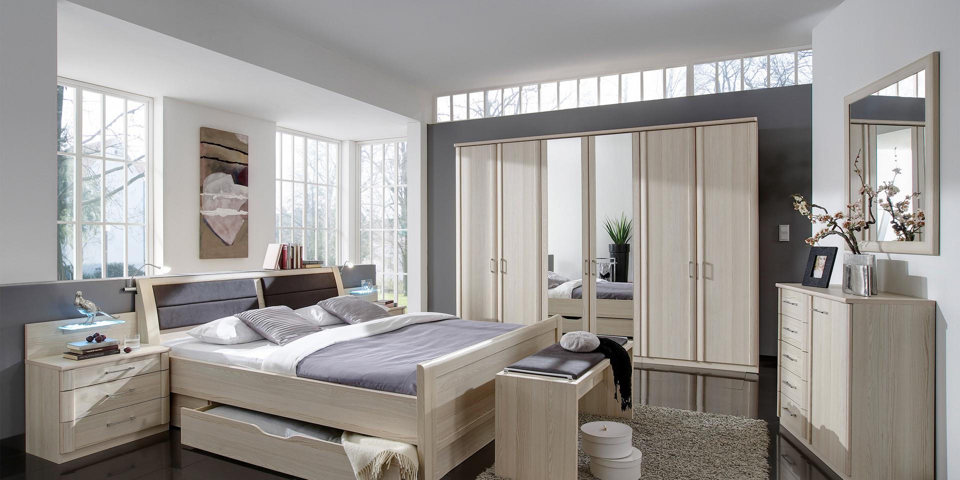 Gut bekannt Erleben Sie das Schlafzimmer Luxor 3+4 | Möbelhersteller Wiemann MU98