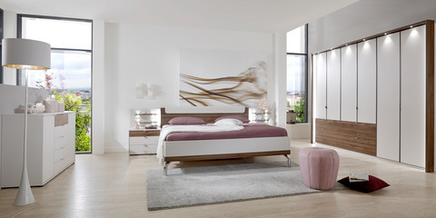 Schlafzimmer modern Catania Champagner Nocce