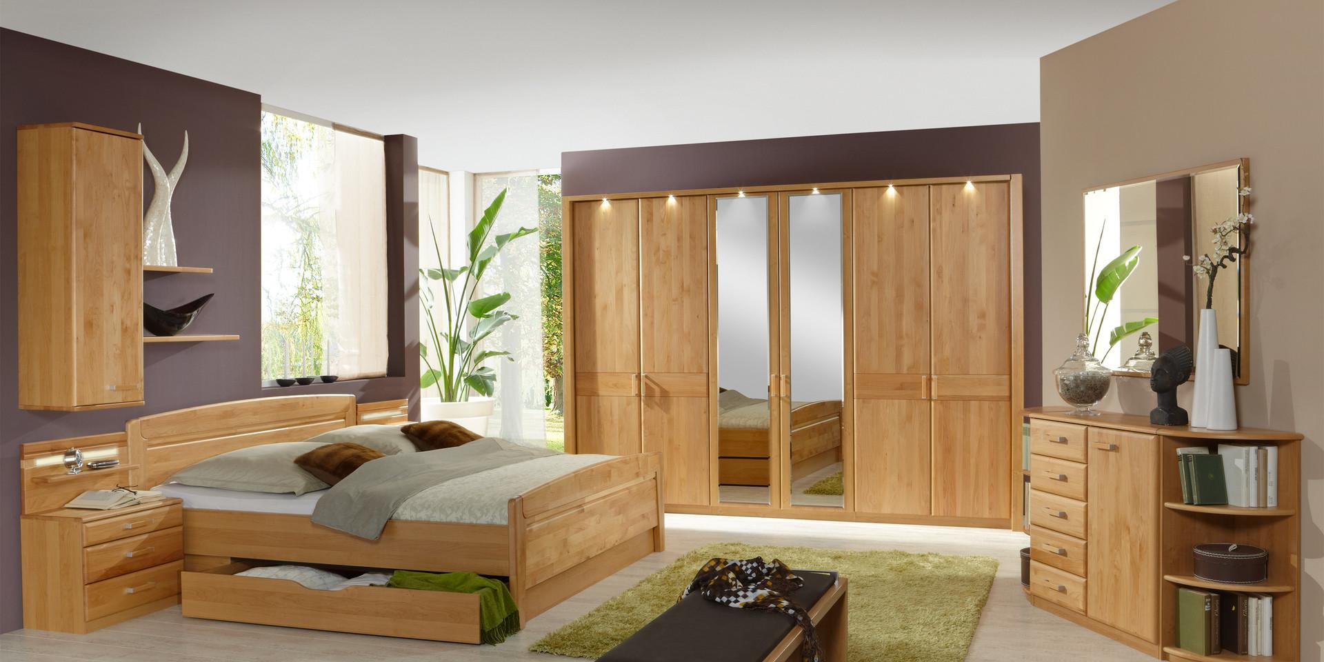 Erleben Sie Das Schlafzimmer Lausanne M 246 Belhersteller