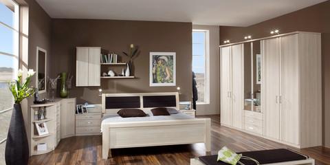 erleben sie das schlafzimmer luxor 3+4 | möbelhersteller wiemann - Schlafzimmer