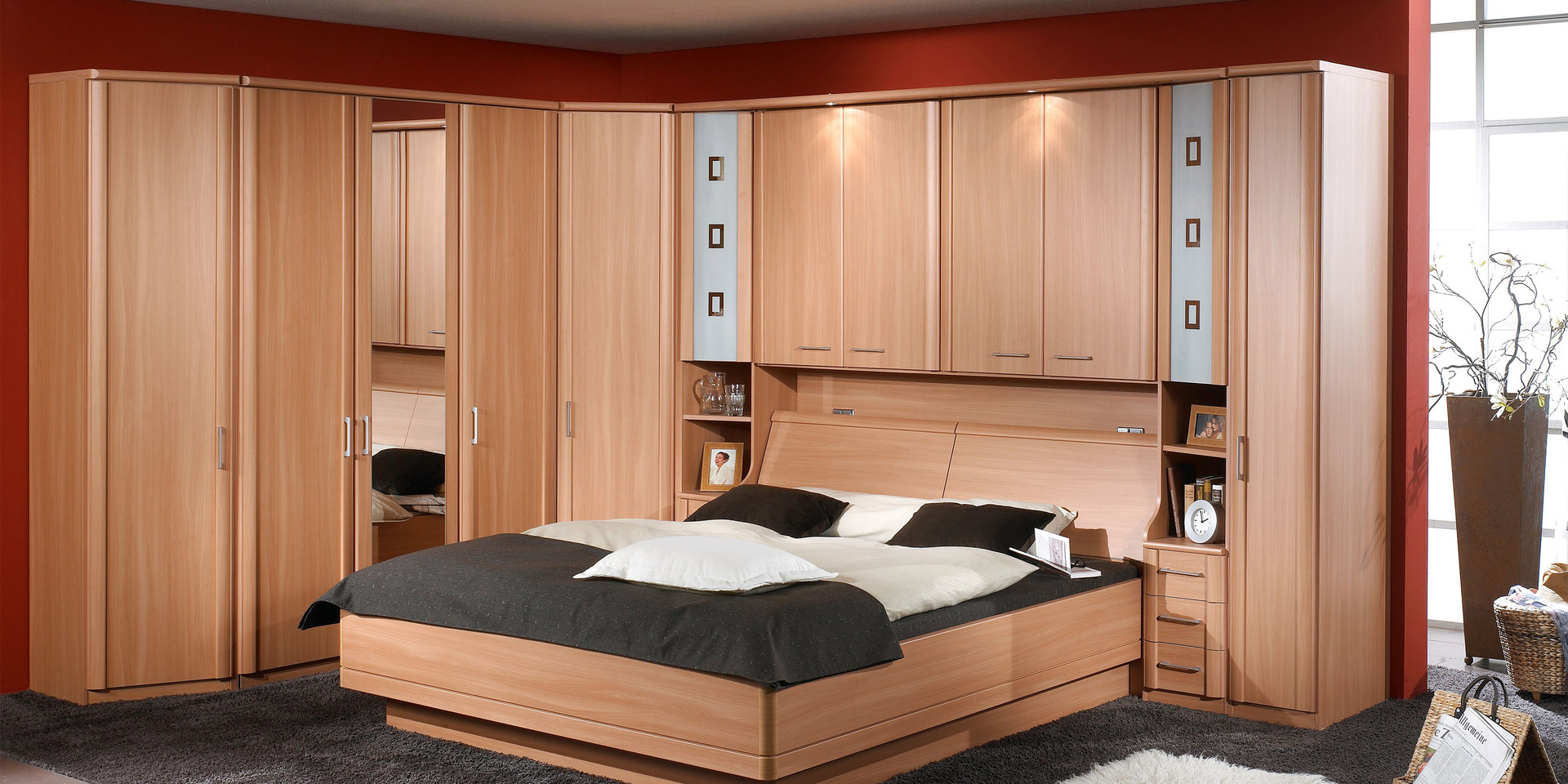 schlafzimmer luxor system programm wohndesign und inneneinrichtung. Black Bedroom Furniture Sets. Home Design Ideas