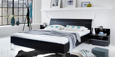 Schlafzimmer : Schlafzimmer Modern Schwarz Weiß Schlafzimmer ... Schlafzimmer Modern Wei