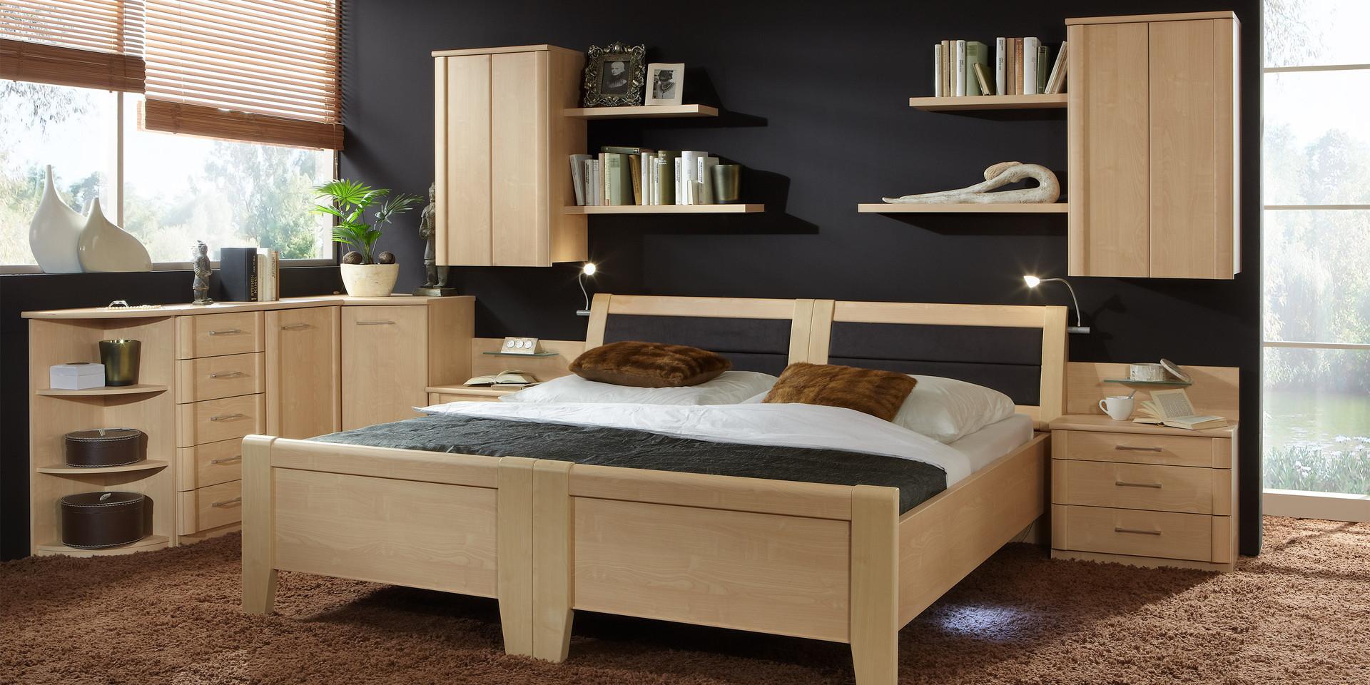 erleben sie das schlafzimmer luxor 3+4 | möbelhersteller wiemann, Schlafzimmer entwurf
