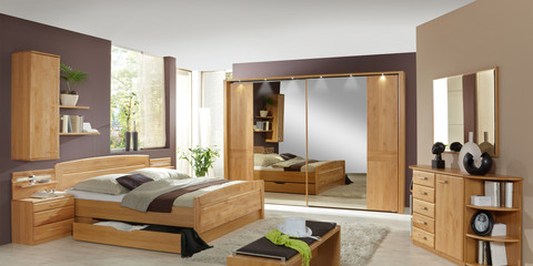 erleben sie das schlafzimmer lausanne m belhersteller. Black Bedroom Furniture Sets. Home Design Ideas