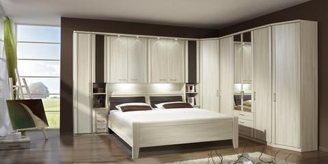 Erleben Sie das Schlafzimmer Luxor 3+4  Möbelhersteller Wiemann