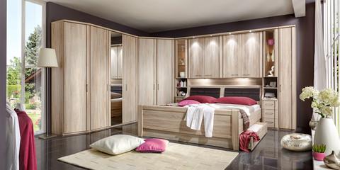 Erleben Sie Das Schlafzimmer Luxor 3+4 | Möbelhersteller Wiemann Schlafzimmer Eiche