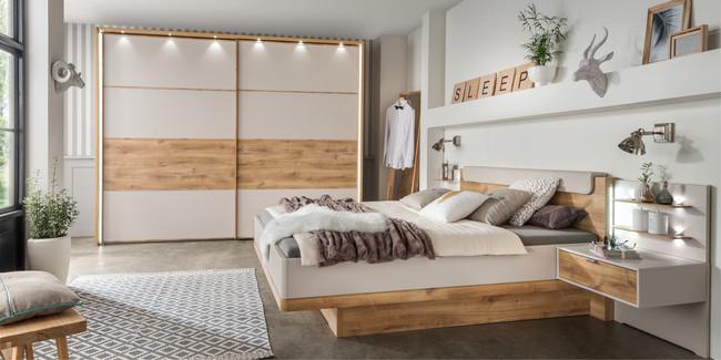 bei uns bekommen sie ein modernes schlafzimmer m belhersteller wiemann. Black Bedroom Furniture Sets. Home Design Ideas
