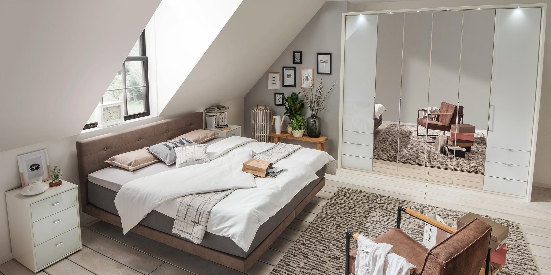 Ihr Schlafzimmer Kansas | Möbelhersteller Wiemann