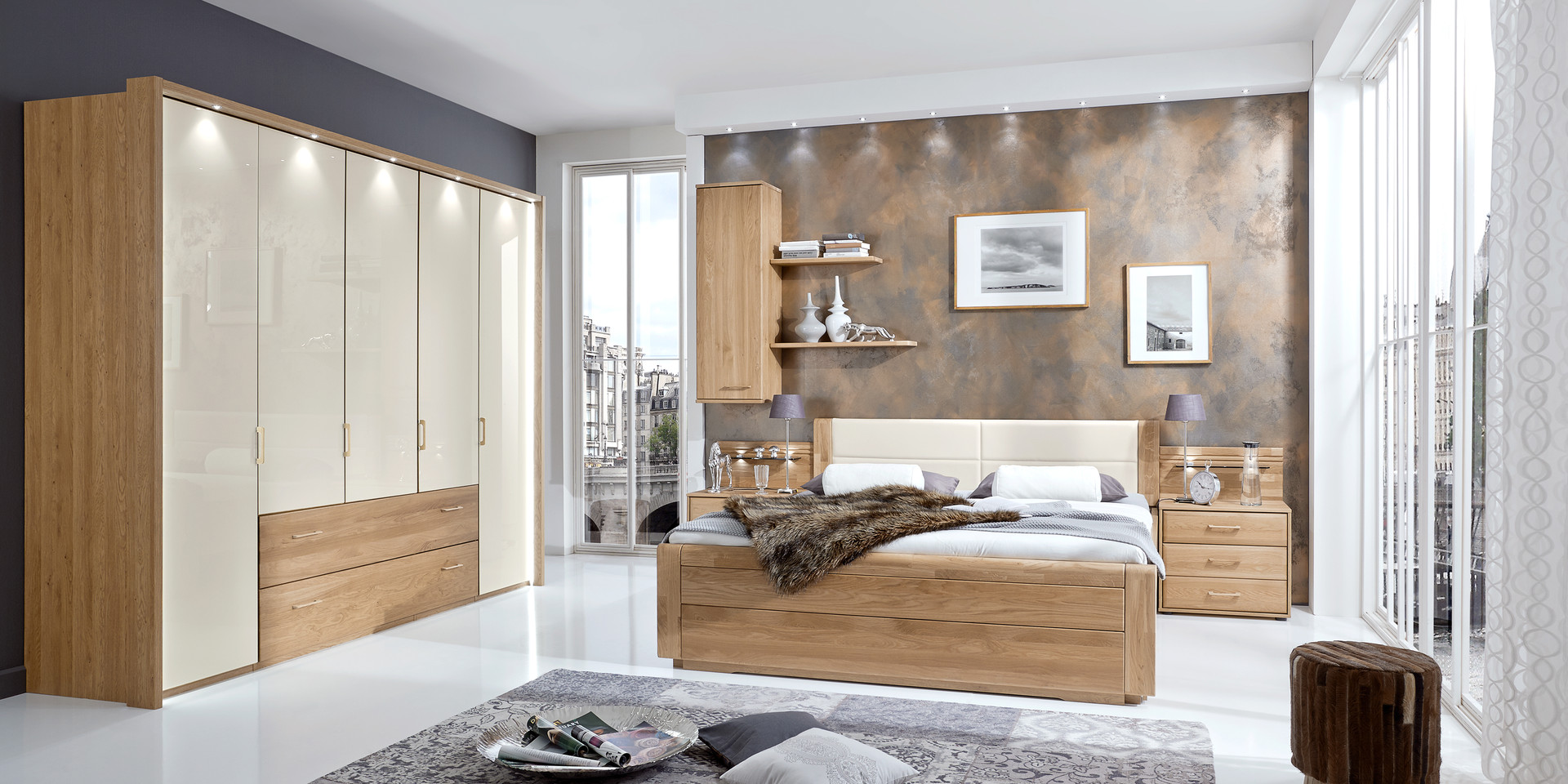 erleben sie das schlafzimmer lido m belhersteller wiemann. Black Bedroom Furniture Sets. Home Design Ideas