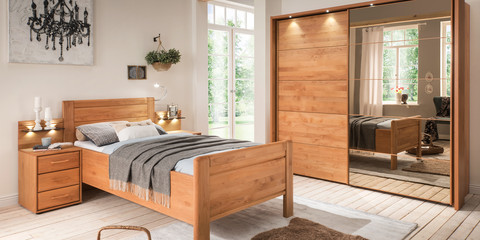 Erleben Sie das Schlafzimmer Lido | Möbelhersteller Wiemann