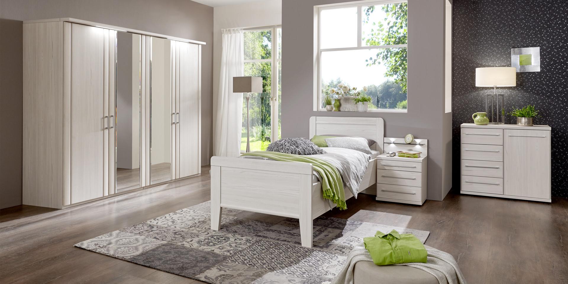 erleben sie das schlafzimmer mainau m belhersteller wiemann. Black Bedroom Furniture Sets. Home Design Ideas