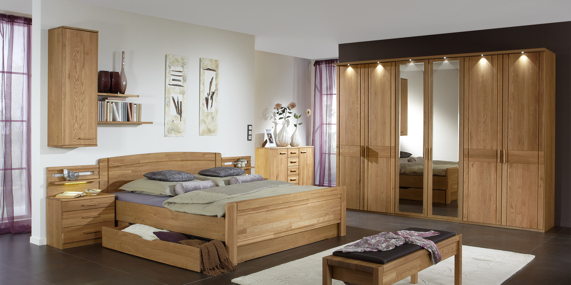 erleben sie das schlafzimmer m nster m belhersteller wiemann. Black Bedroom Furniture Sets. Home Design Ideas