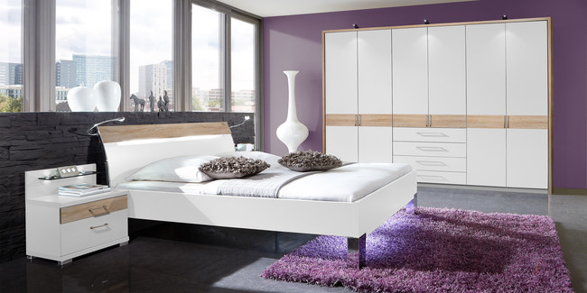bei uns bekommen sie ein modernes schlafzimmer m belhersteller wiemann. Black Bedroom Furniture Sets. Home Design Ideas