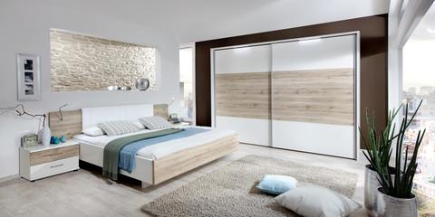 erleben sie das schlafzimmer arizona | möbelhersteller wiemann - Schlafzimmer Modern