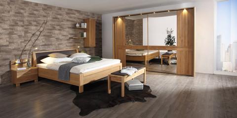 erleben sie das schlafzimmer faro | möbelhersteller wiemann, Schlafzimmer ideen