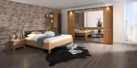 Erleben Sie das Schlafzimmer Faro | Möbelhersteller Wiemann