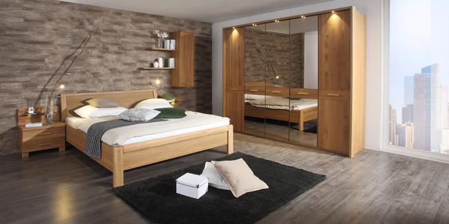 Schlafzimmerschrank erle massiv