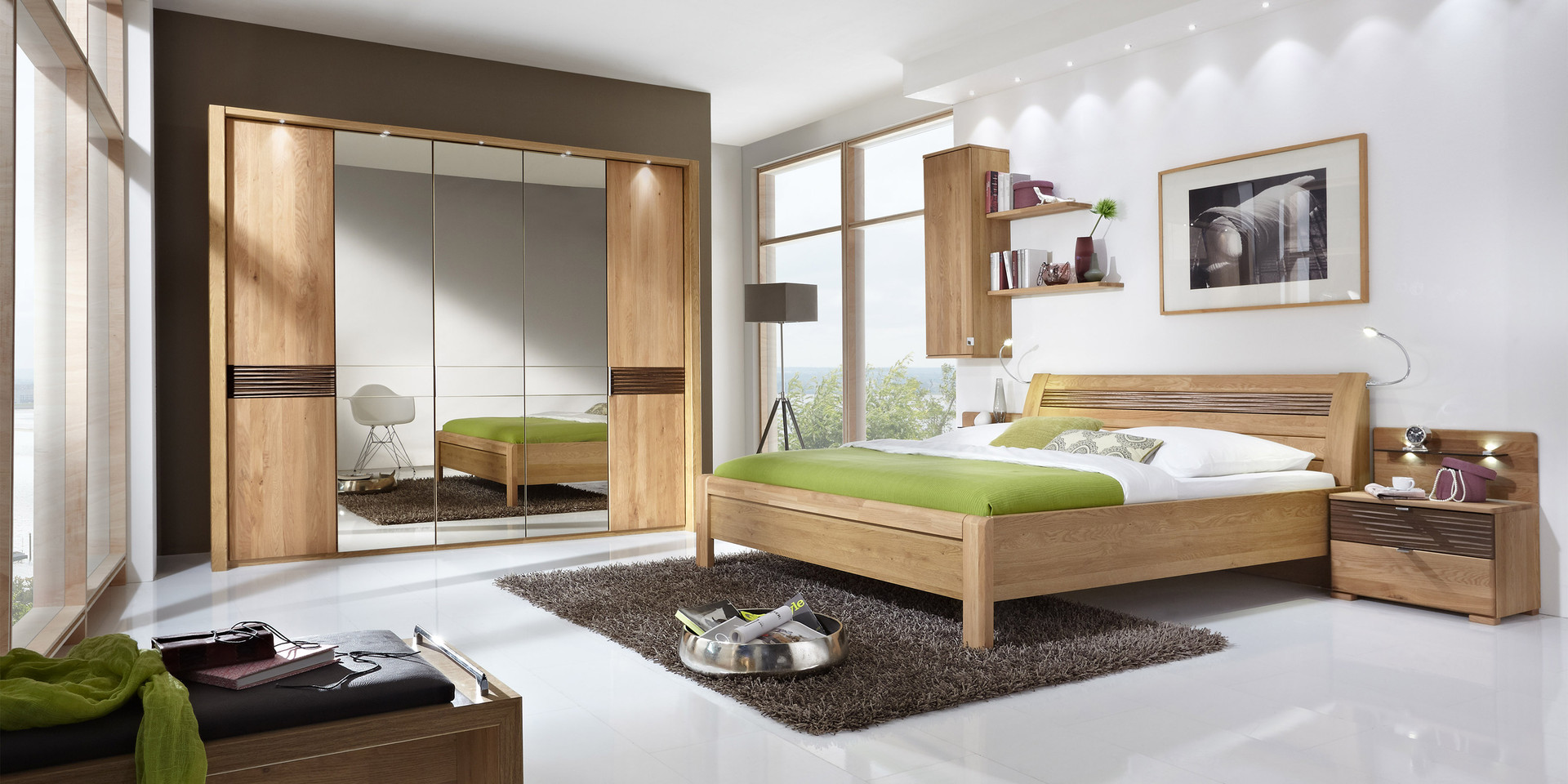 erleben sie das schlafzimmer lugano m belhersteller wiemann. Black Bedroom Furniture Sets. Home Design Ideas