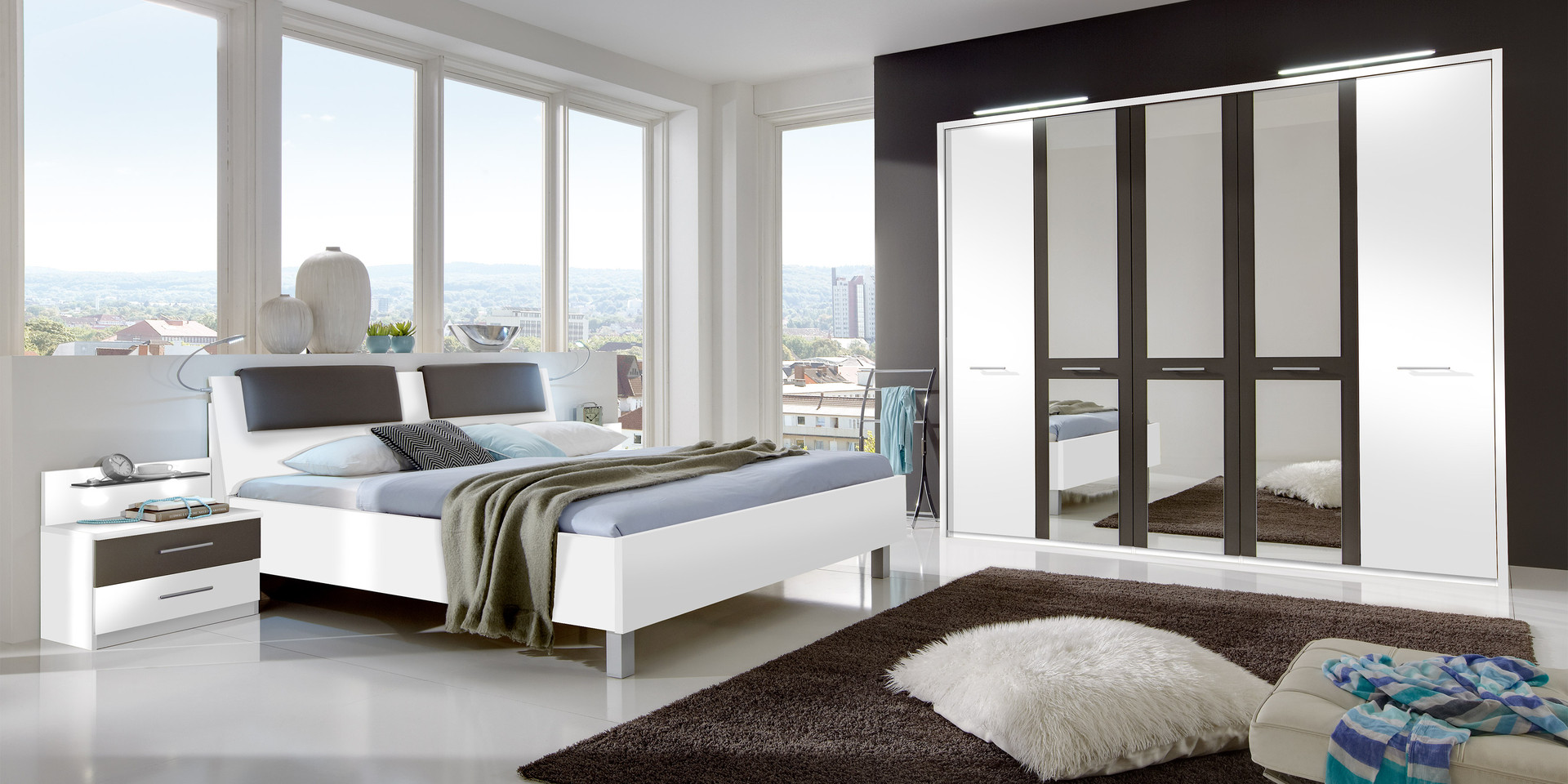 erleben sie das schlafzimmer portland m belhersteller wiemann. Black Bedroom Furniture Sets. Home Design Ideas