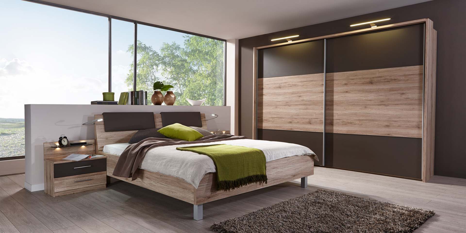 erleben sie das schlafzimmer portland m belhersteller. Black Bedroom Furniture Sets. Home Design Ideas