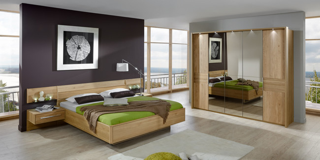 bei uns bekommen sie ein modernes schlafzimmer. Black Bedroom Furniture Sets. Home Design Ideas