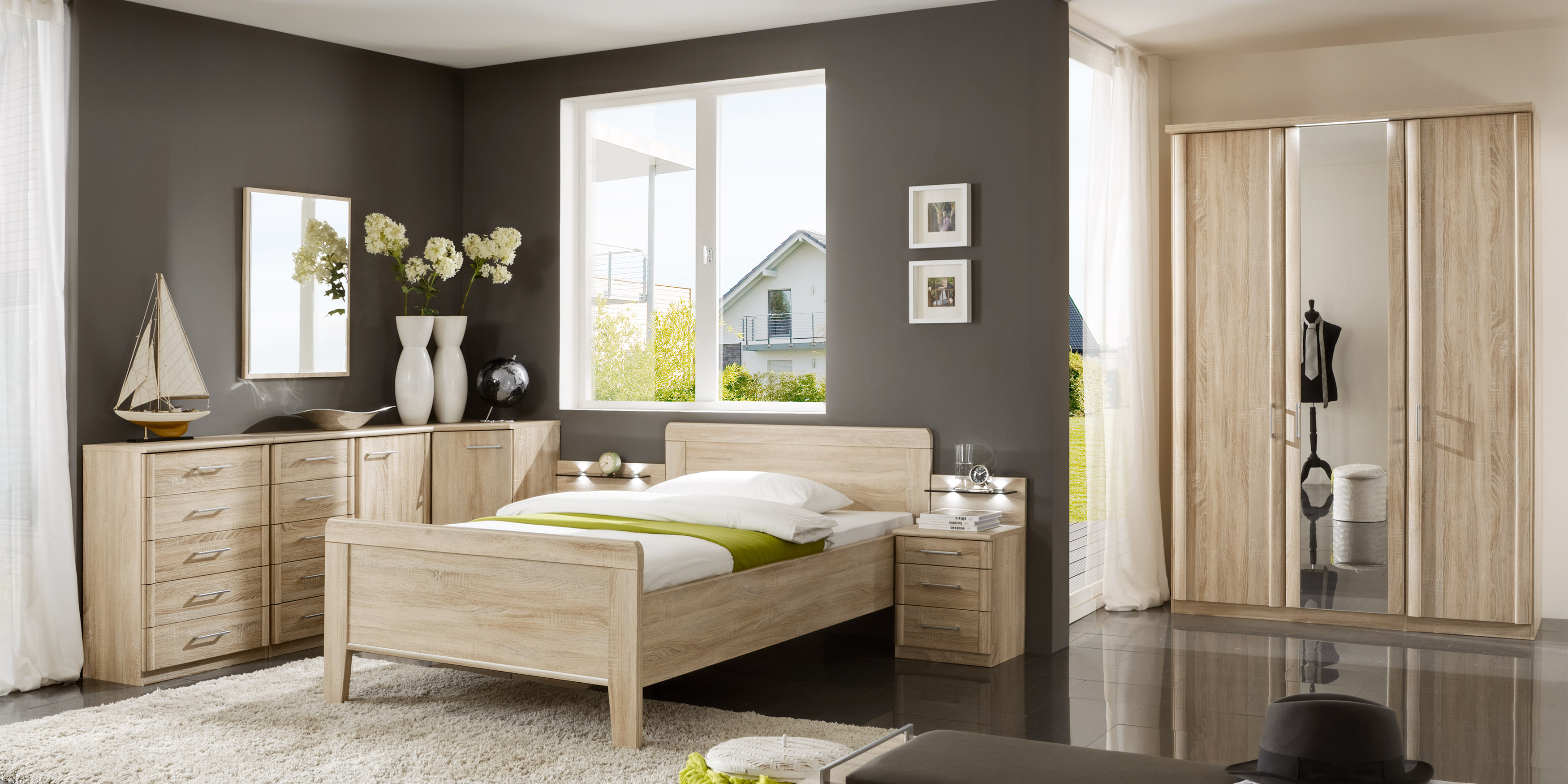 erleben sie das schlafzimmer meran m belhersteller wiemann. Black Bedroom Furniture Sets. Home Design Ideas